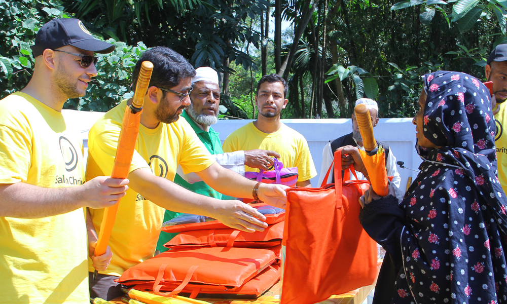 Maher Zain Delivers Aid to Disabled and Students in Sylhet