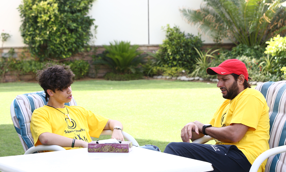 Haris J and Shahid Afridi